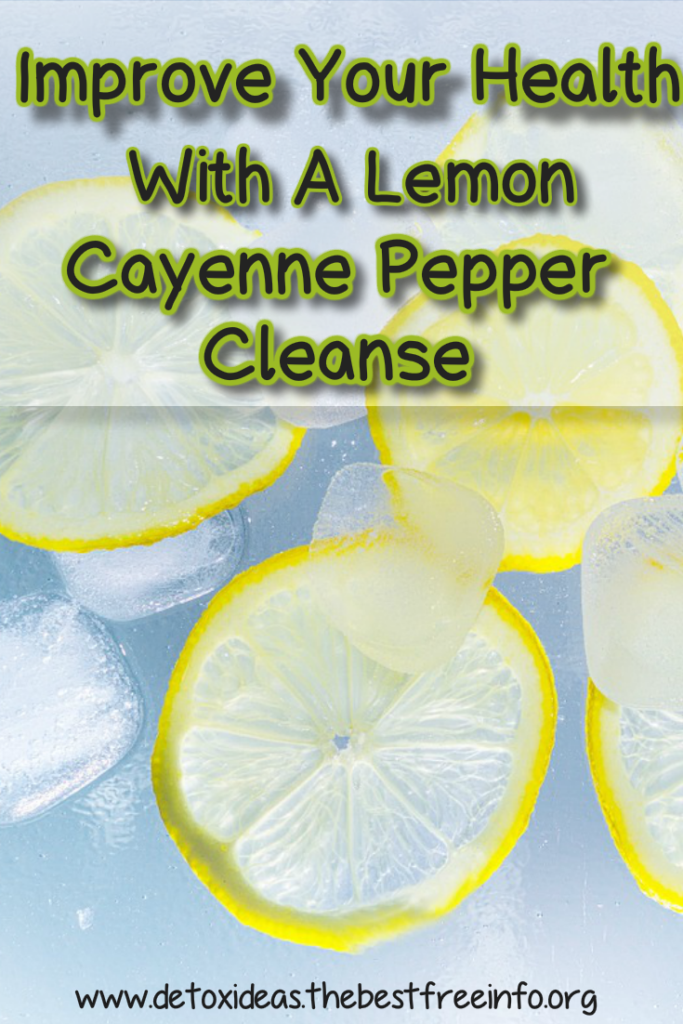 Lemon Cayenne Pepper Detox