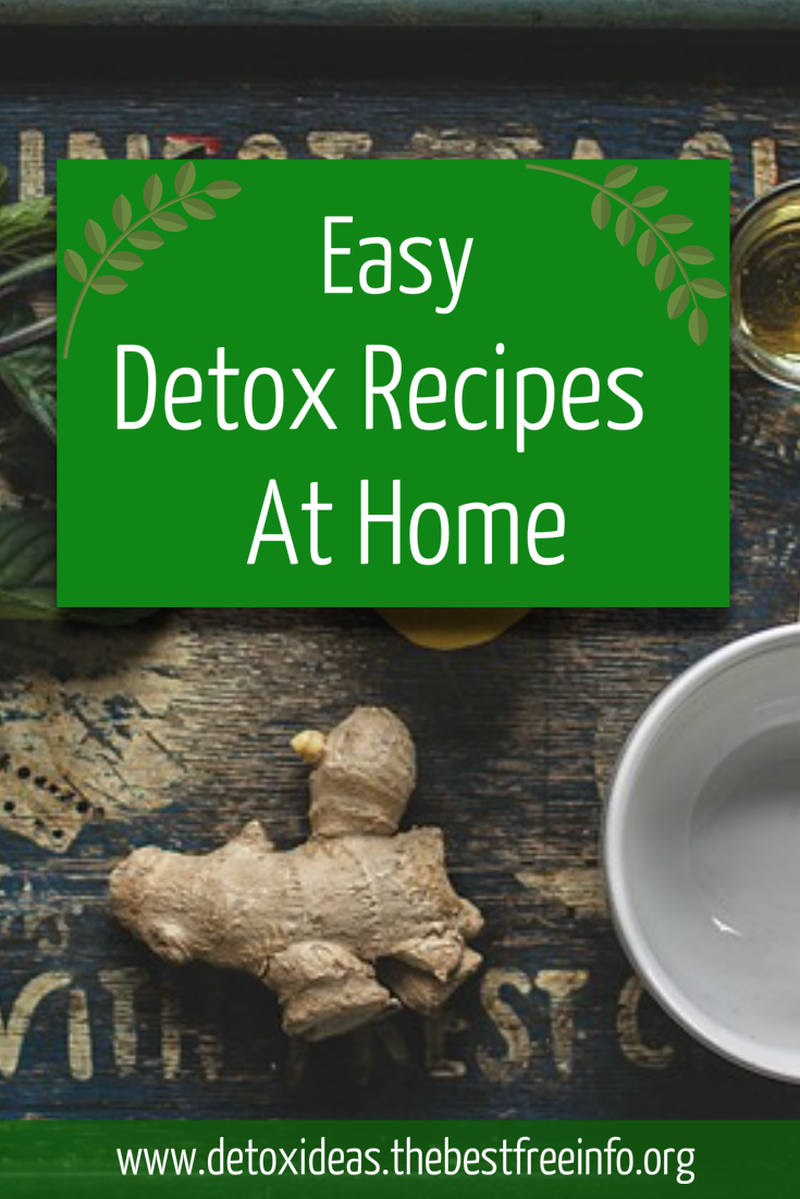 Natural Detox Cleanse At Home