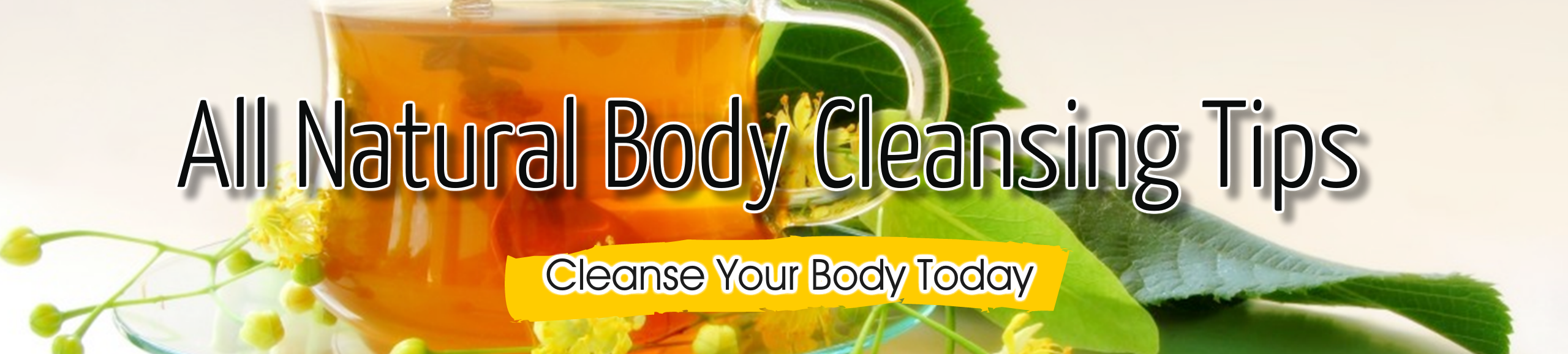 All Natural Body Detox Cleansing