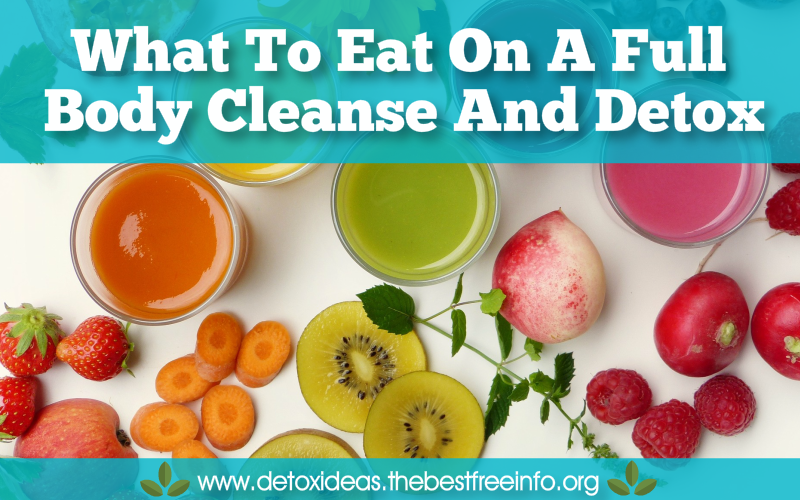 full body cleanse and detox
